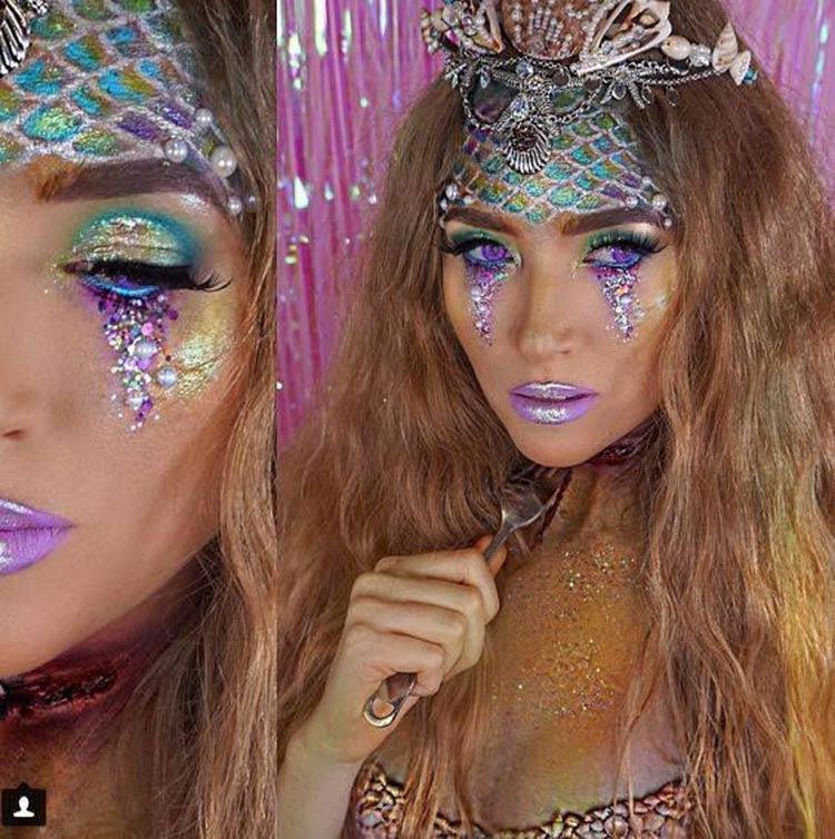 maquiagem-para-festa-de-carnaval-sereia-fotos