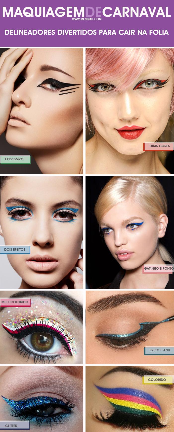 Maquiagem Carnaval 2013