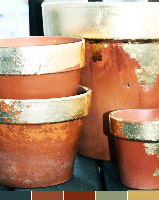 Inspiração da semana Decoração com vasos Blog MeninaIT