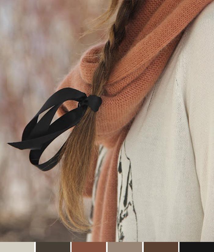 Inspirations of the week tons terrosos para o inverno 2013 Fashion Blog MeninaIT
