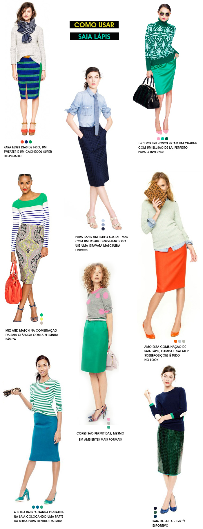 como-usar-saia-lápis-dica-de-estilo-j-crew-fashion-blog-MeninaIT