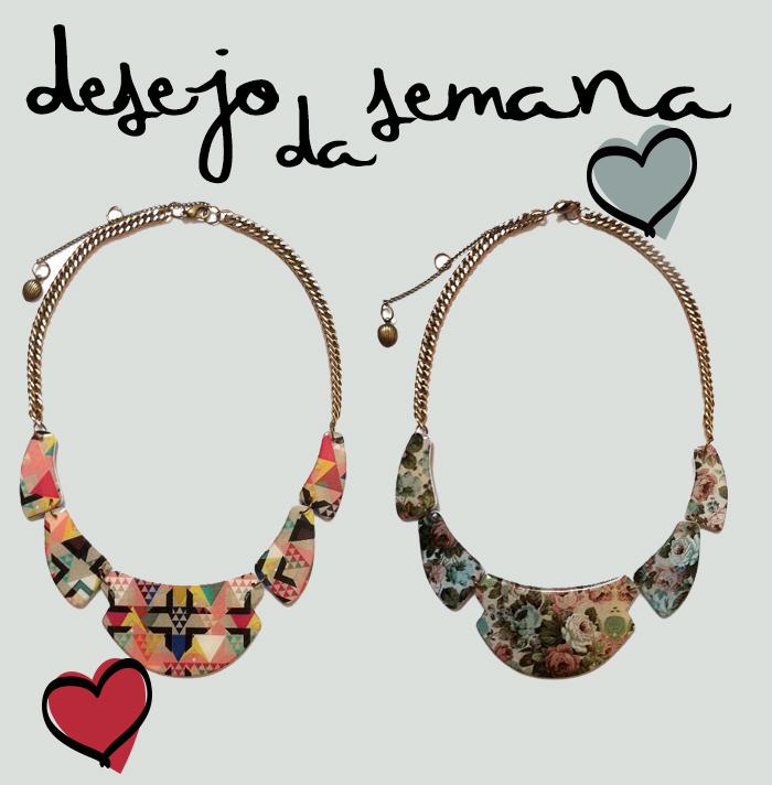 desejo da semana colar Mayara Leão Acessórios Fashion Blog MeninaIT