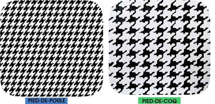 Diferença entre estampa pied de poule e pied de coq Fashion Blog MeninaIT