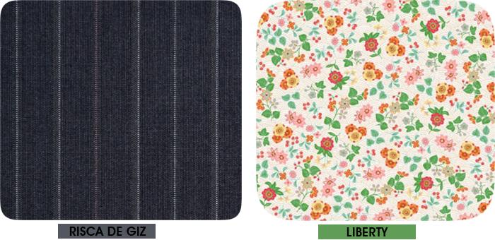 Estampa risca de giz e liberty Blog de Moda MeninaIT