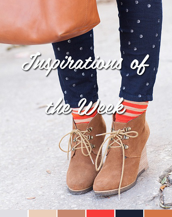 Inspirations of the week Meias coloridas