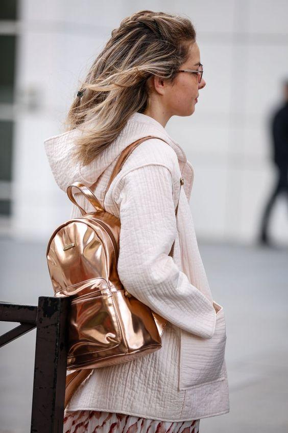 mochila metalizada como usar