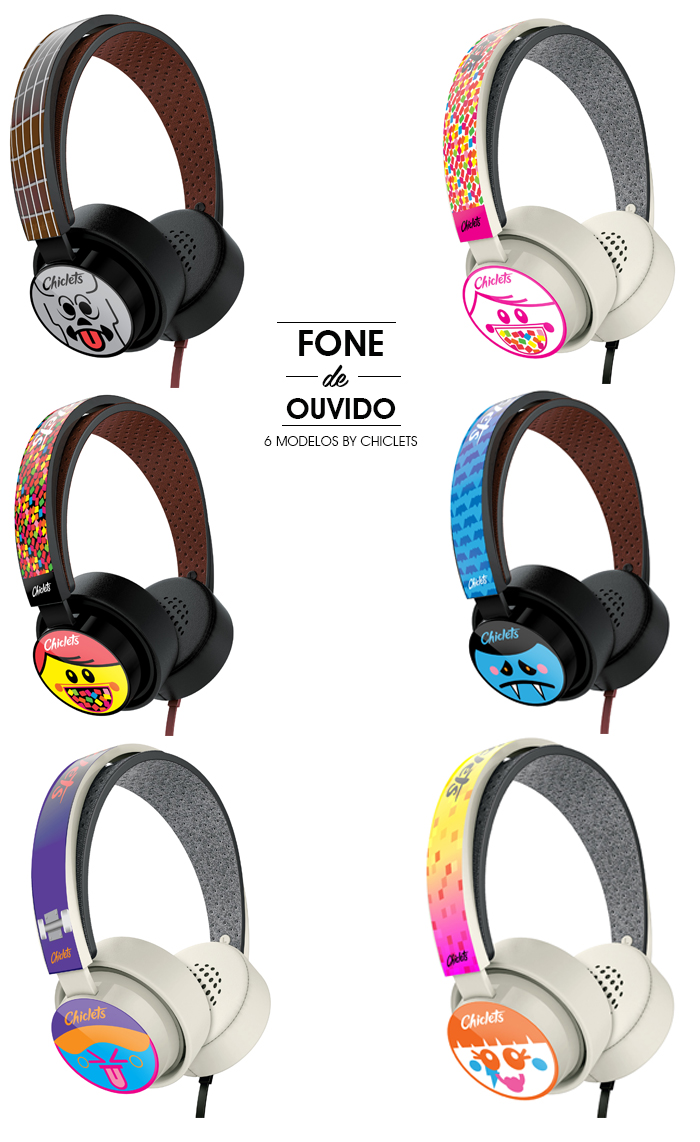 Headphones Chiclets MeninaIT