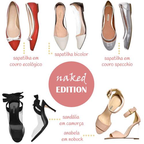 Sapatos Corello com Transparência