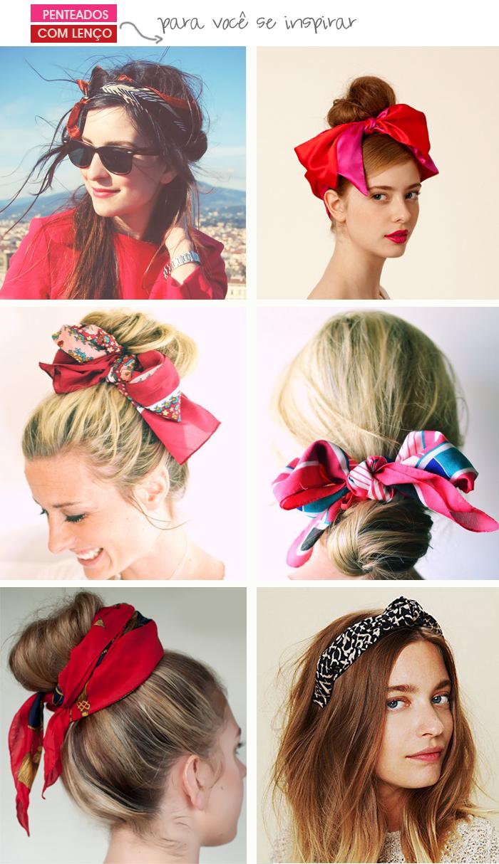Blog MeninaIT Penteados com lenço para se inspirar