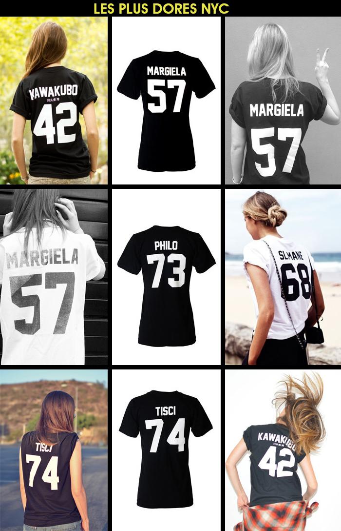 Blog de Moda MeninaIT Camisetas esportivas Les Plus Dores NYC