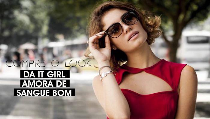 MeninaIT Deisi Remus Compre o Look da Personagem It Girl Amora da novela Sangue Bom