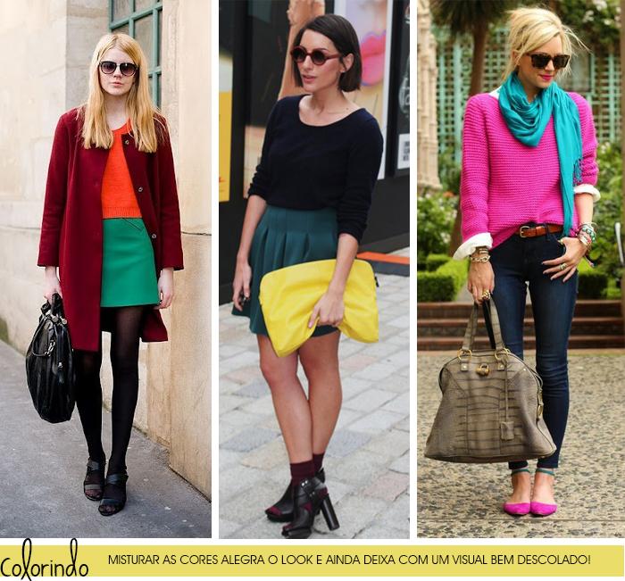 MeninaIT Deisi Remus blog de moda Como misturar e combinar as cores em um look