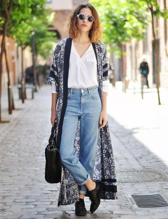 como usar kimono durante o dia