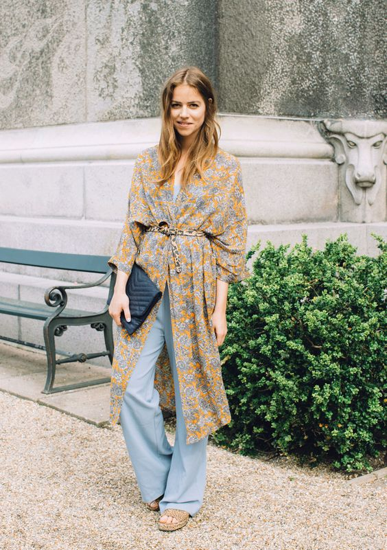 kimono como usar dicas