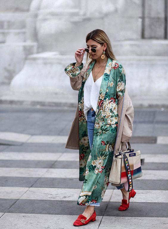 kimono semana de moda