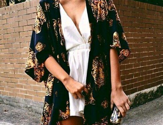 looks com kimono