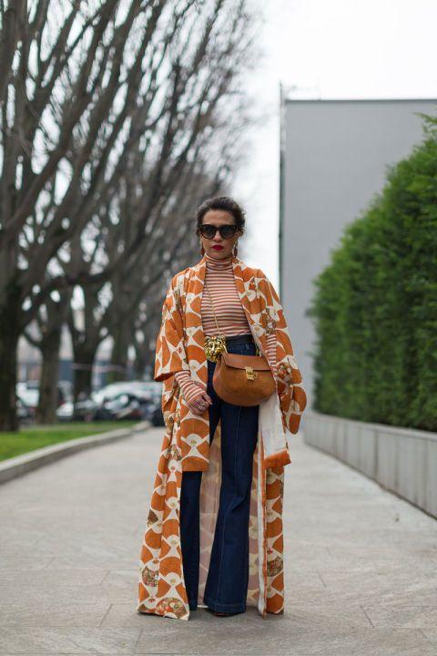 looks com kimono fotos