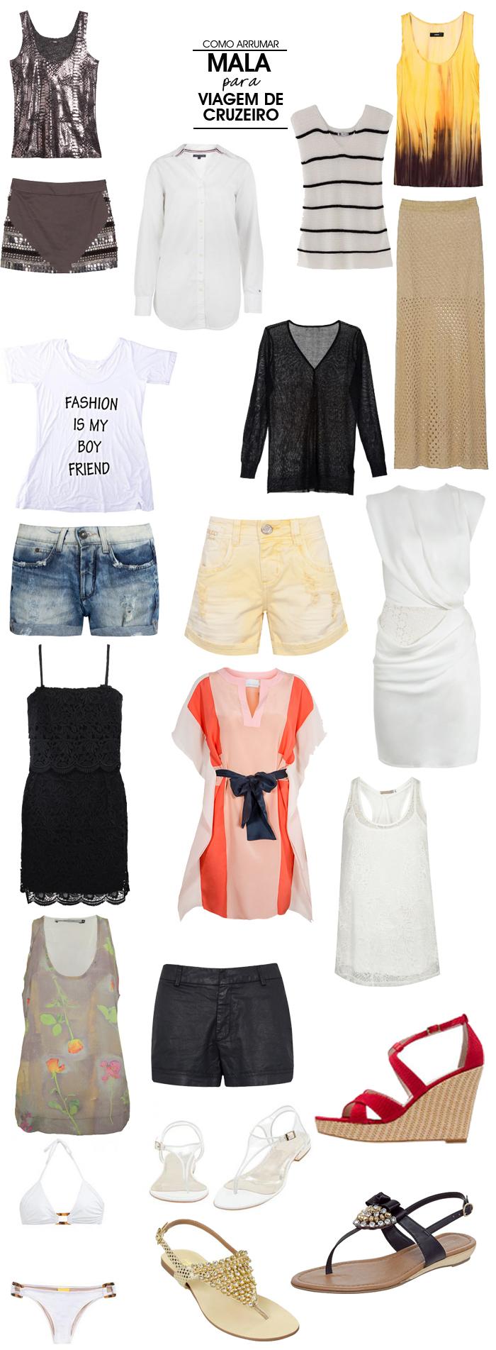 O que levar na mala em uma viagem de cruzeiro Fashion Blog MeninaIT