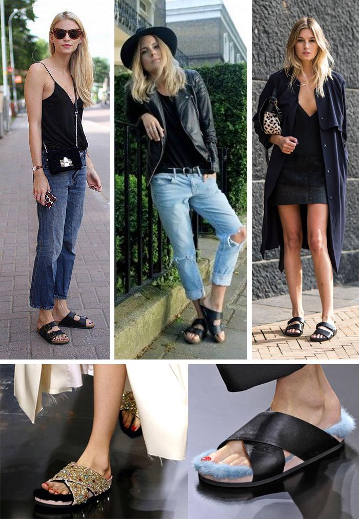 A volta da sandália birkenstock fashion blog MeninaIT