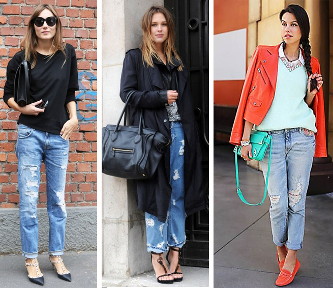 Calça boyfriend jeans feminina como usar fashion blog MeninaIT