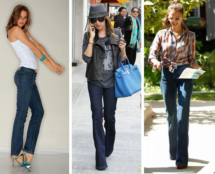 Calça jeans reta feminina como usar