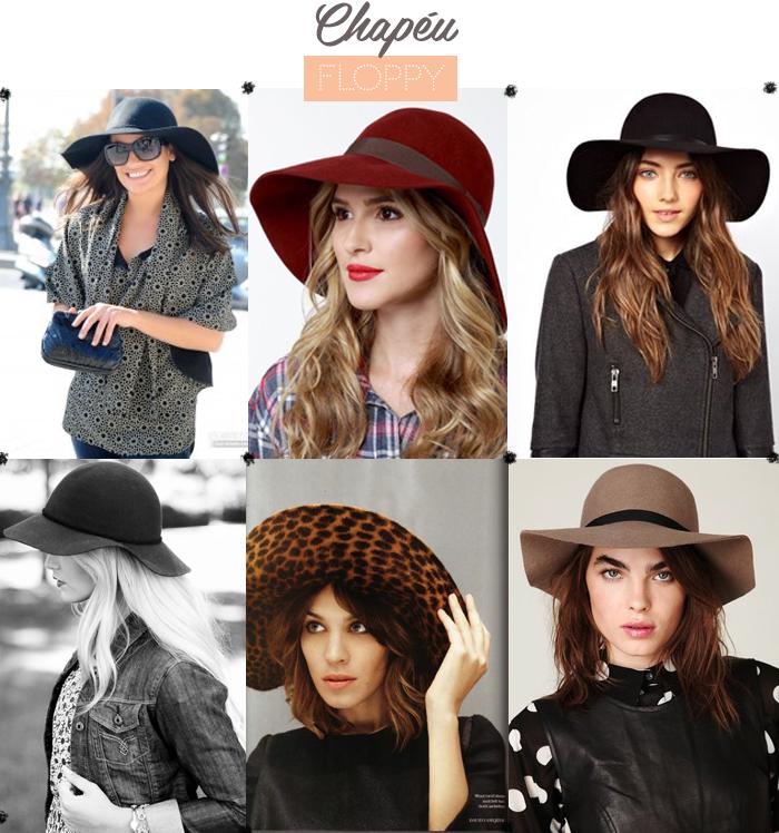 Chapéu Floppy como usar e combinar chapéu na roupa do dia a dia MeninaIT