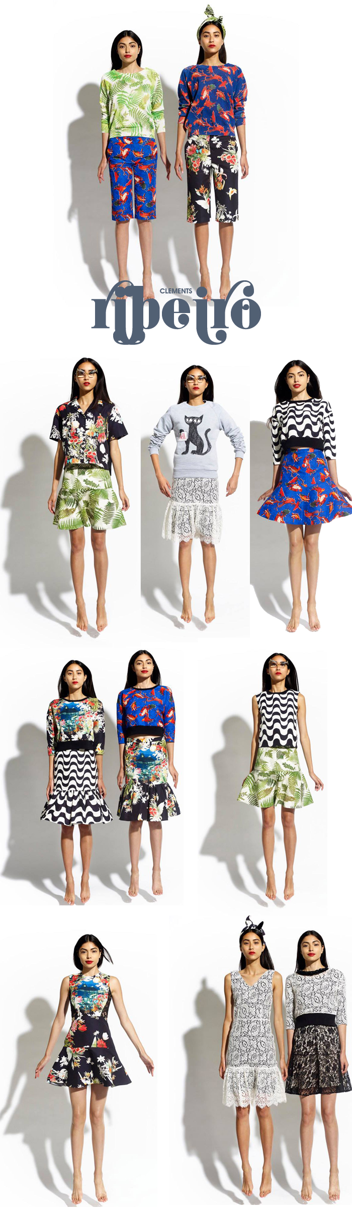 Clements Ribeiro Primavera verão 2014 Fashion blog meninait