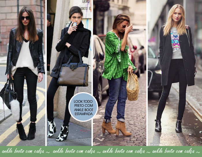 Como usar ankle boots com calça blog de moda feminina MeninaIT