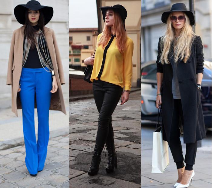 Como usar chapéu floppy com calças Fashion blog MeninaIT