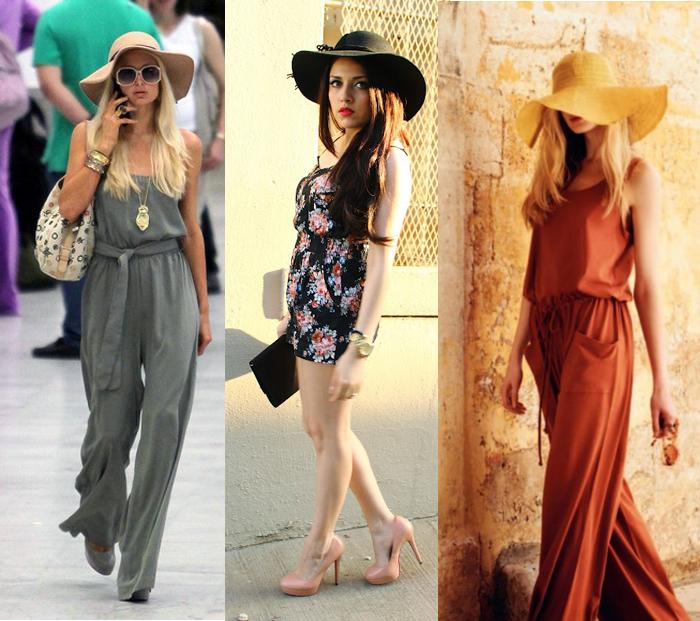 Como usar chapéu floppy com macacão fashion blog MeninaIT