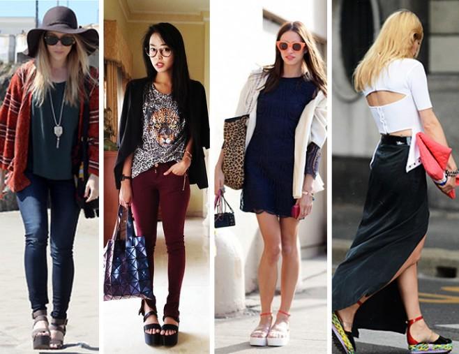 Como usar sandália flatform estilo despojado fashion blog MeninaIT