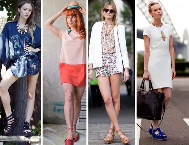 Como usar sandálias flatform estilo fashion blog de moda MeninaIT