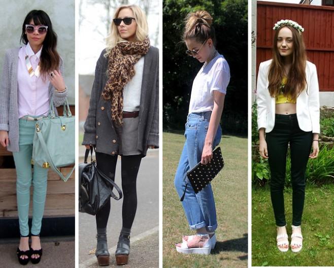 Como usar sandalia flatform estilo mais arrumada blog feminino MeninaIT