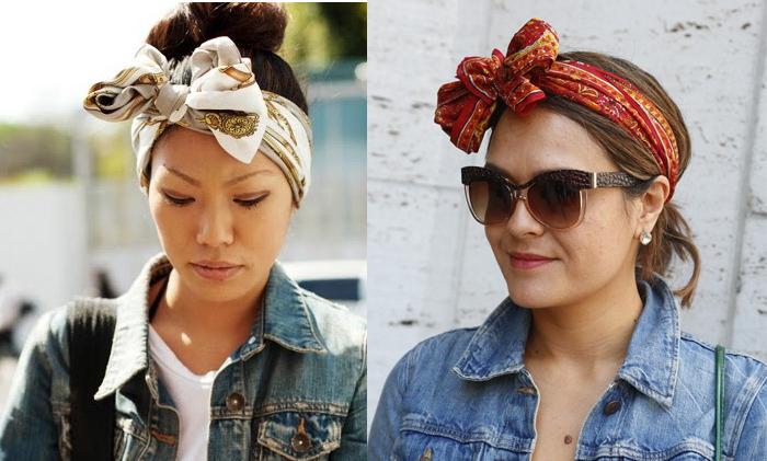 Como usar turbantes com laço no dia a dia site de moda feminina