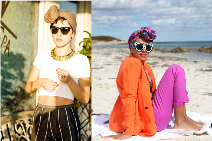 Como usar turbantes com nó site de moda e tendências feminina