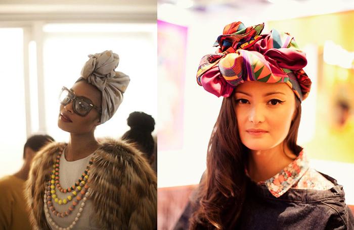 Como usar turbantes com volume site de moda feminina
