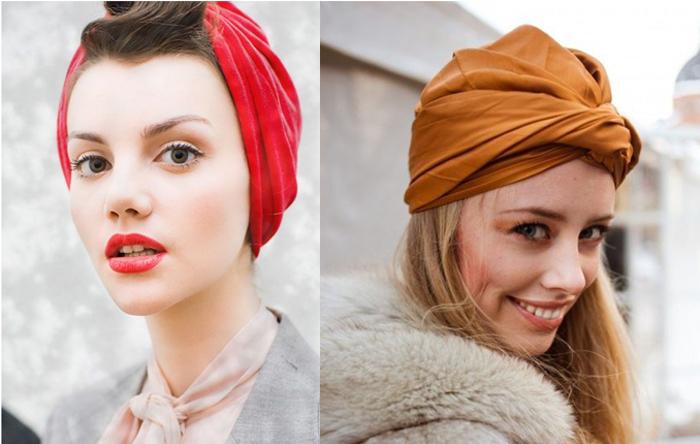 Como usar turbantes de forma chic site de moda feminina e tendências