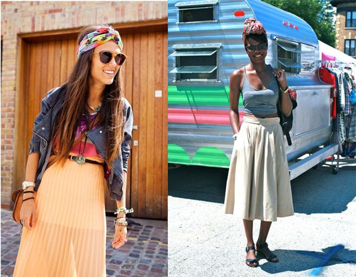 Como usar turbantes em looks casuais site de moda feminina