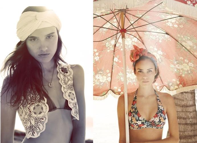 Como usar turbantes no verão e na praia site de moda feminina