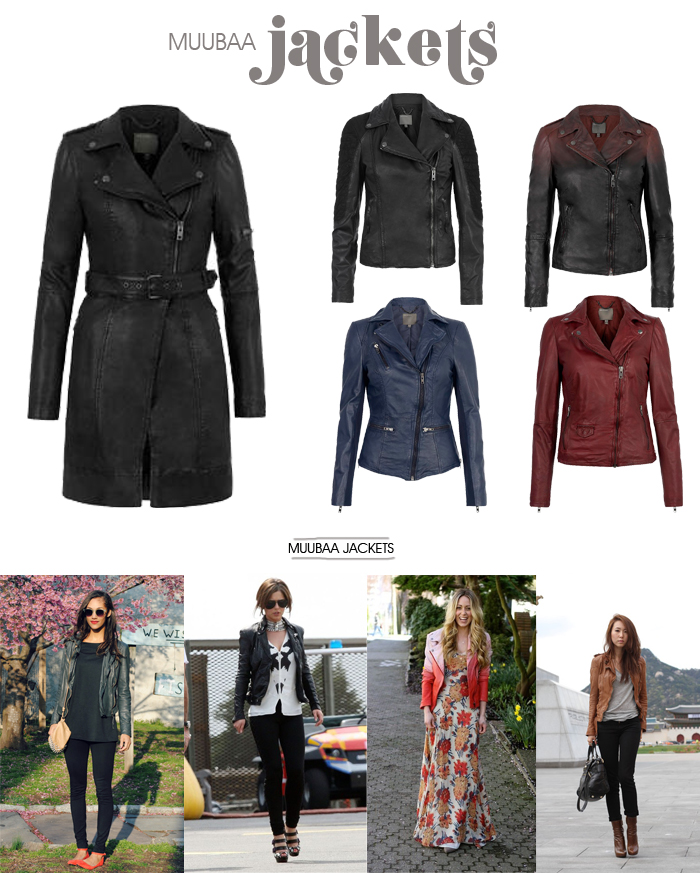 Leather jackets Muubaa Fashion blog MeninaIT