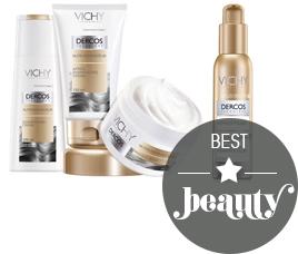 Linha Vichy Dercos linha de tratamento para cabelos beauty blog MeninaIT