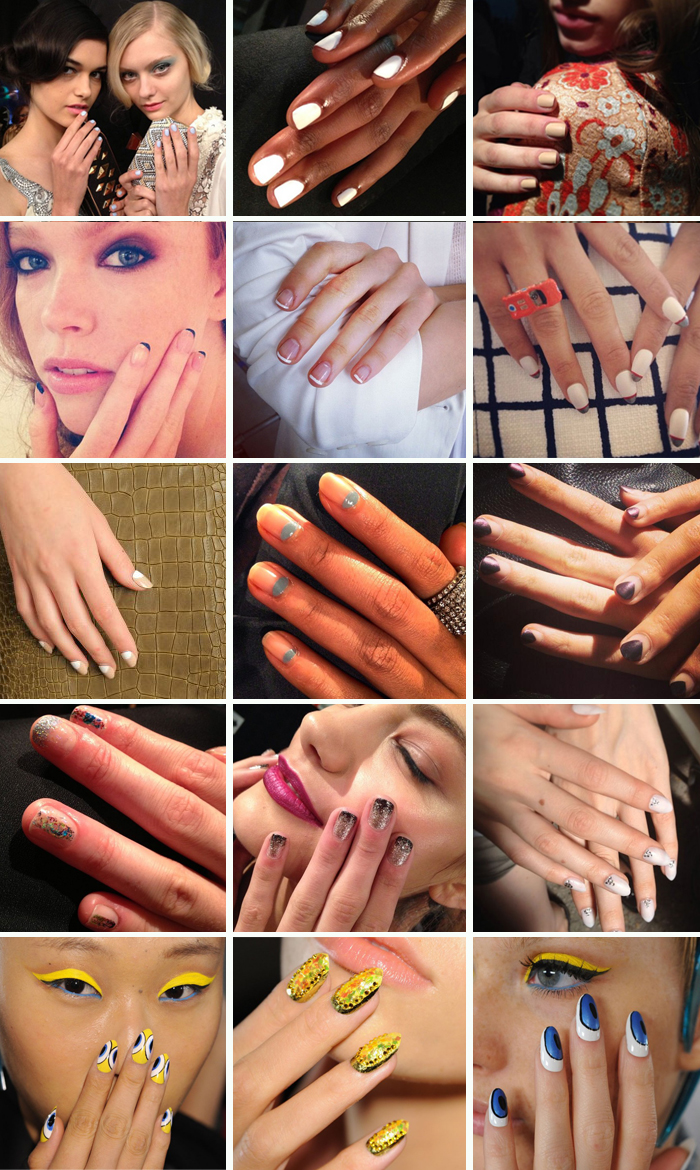 New York Fashion Week bastidores de beleza nail art do verão 2014 Beauty blog MeninaIT
