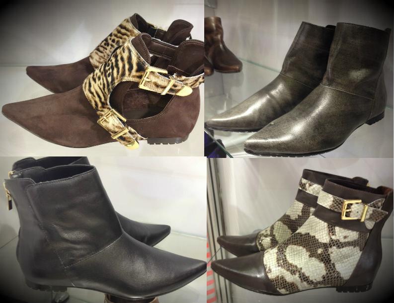 Tendências em sapatos e botas de cano curto para o inverno 2014