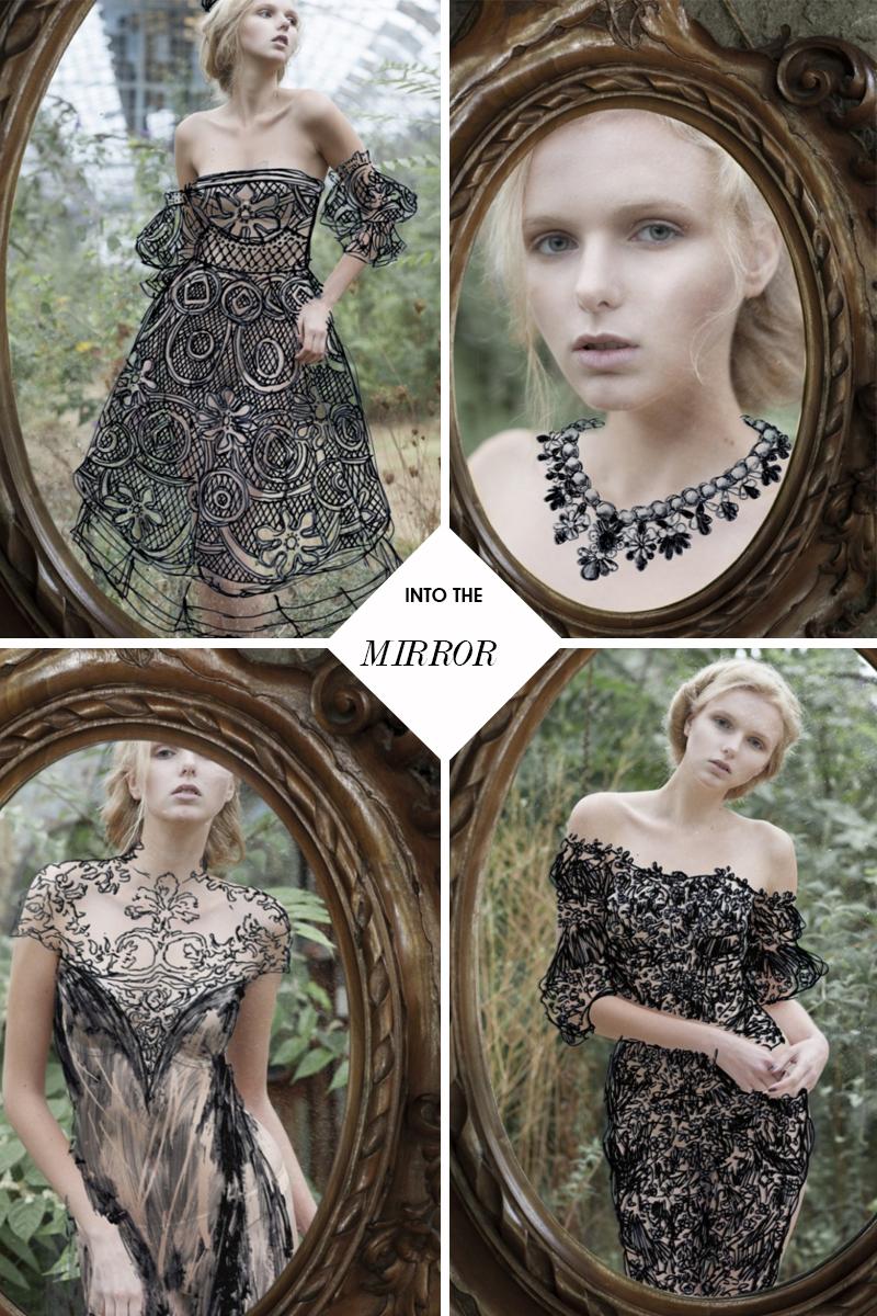 Editorial de moda Into the Mirror por Luca Meneghel