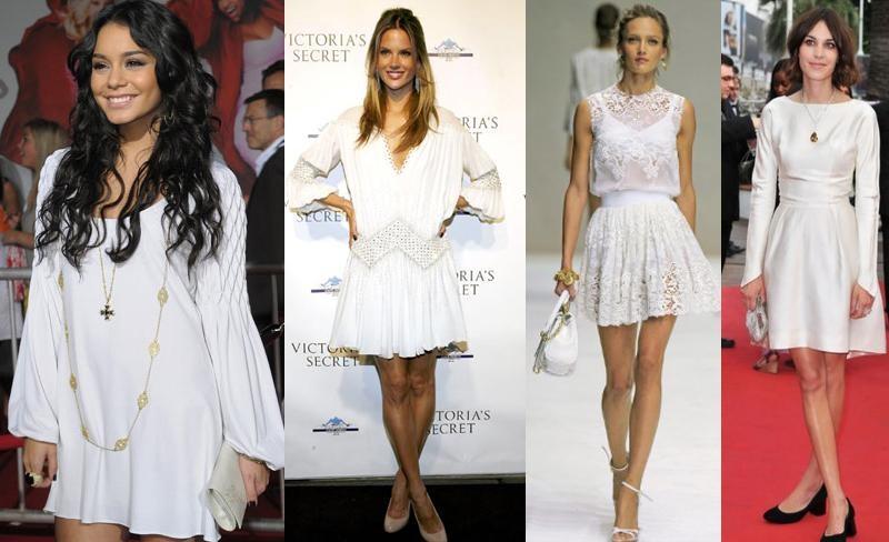 Looks brancos para usar no final de ano e significado das cores
