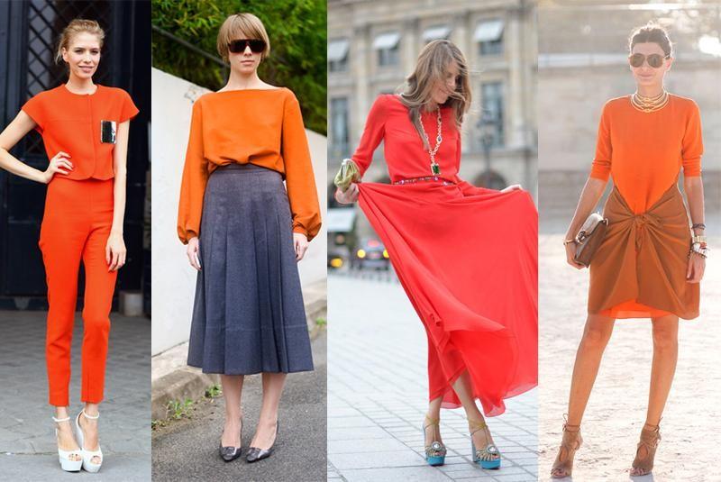 Looks laranja para usar no final de ano e significado das cores