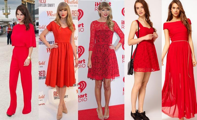 Looks vermelho para usar no final de ano e significado das cores