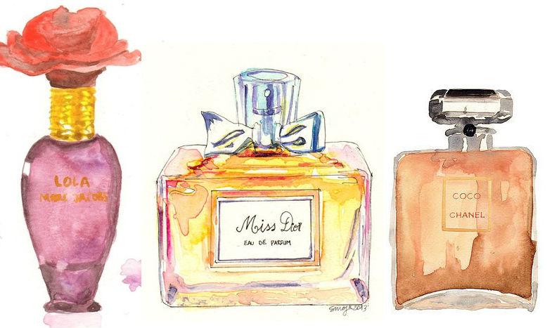 veja a diferença entre Parfum Eau de Parfum Eau de Toilette Eau de Cologne e Eau Fraiche