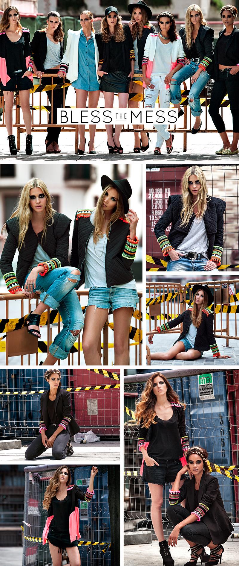 Bless The Mess coleção de blazer e casacos diferenciados estilo moda fashion blogger
