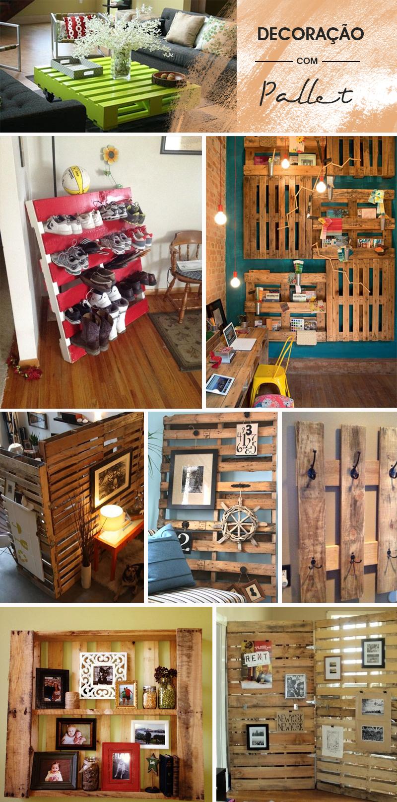 Decoração usando pallet diversas ideias para você se inspirar e decorar a casa